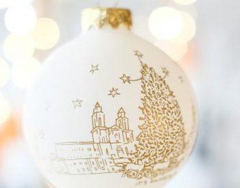 Christmas bauble 2017 - 2018