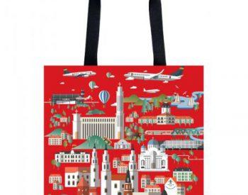 "Handbag ""Kaunas places"