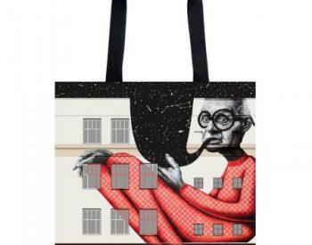 "Handbag ""The wise old man"